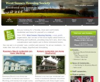 West Sussex Housing Society: Care Homes